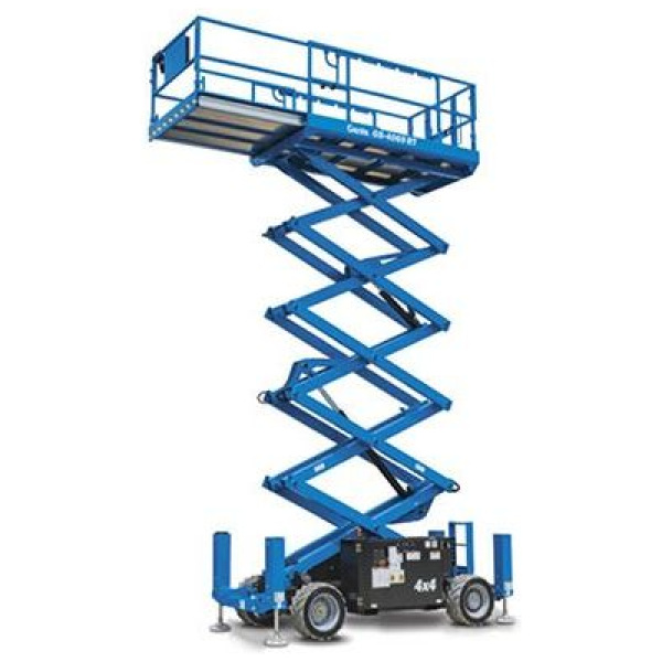 12M Sax lift 4WD/støtte ben