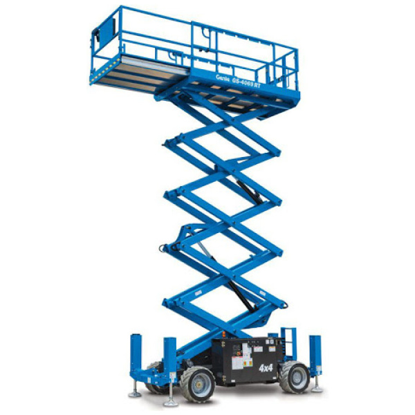 14M Sax lift 4WD/støtte ben